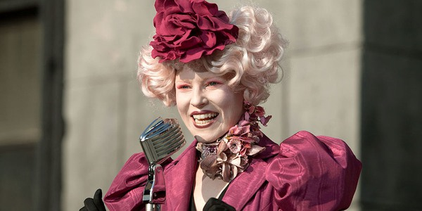 Effie Trinket from the Hunger Games