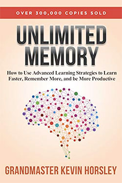 Unlimited Memory book by Grandmaster Kevin Horsley