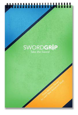 SwordGrip Bible memory booklet by Scripture Memory Fellowship
